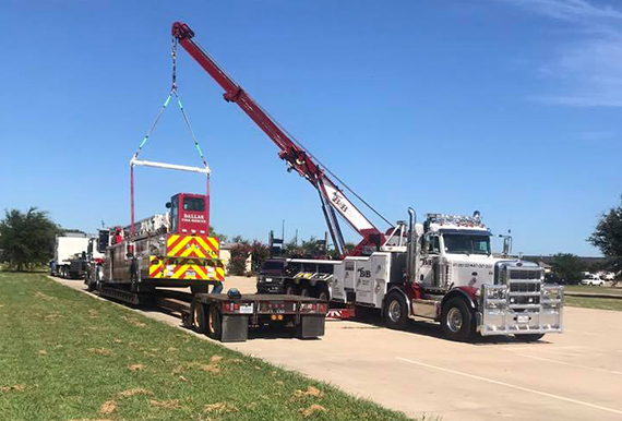 Flatbed Hauling around Dallas and Fort Worth