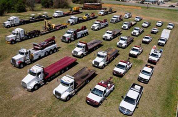 Our Fleet of Towing, Transport, and Recovery Trucks